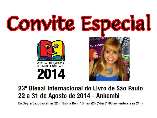 Convite especial bienal 2